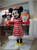 Super Deal@ Minnie Mouse Mascot Costume Adult Sz Fancy Dress for Party