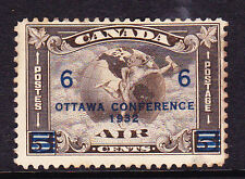 CANADA 1932  6c OTTAWA CONFERENCE AIR MH Sc C4