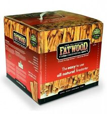 Wood Products Fatwood Box, 10 Pounds, 9910, New, Free Shipping