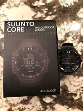 Suunto Core All Black SS014279010 Wrist Watch for Men and Unisex