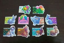 Japan 1998 G4-G5 Pets Greetings stamps 10v USED