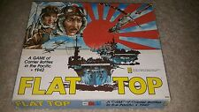 VTG Avalon Hill Flat Top Game Of Carrier Battles In Pacific WW2 Board Game