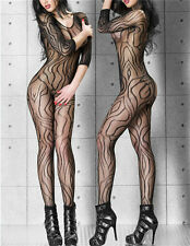 Hot Women's Sleepwear Thighs Dynamic Pattern Bodysuit Lady Lace Body Stockings