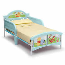 NEW DELTA CHILDREN DISNEY WINNIE THE POOH UNISEX JUNIOR TODDLER STARTER BED