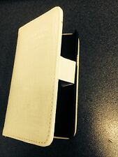 Samsung Galaxy SII i9100 Fitted Leather Flip Case Crocodile Skin White Brand New