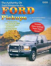 FORD PICKUP ACCESSORI prospetto USA 1999 brochure Accessories auto automobili America