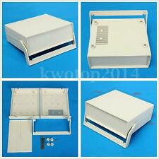 Plastic Electronic Enclosure Project PCB Box Case Desk Shell Cover 200x175x70mm