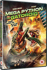 MEGA PYTHON VS GATOROID - DVD - REGION 2 UK