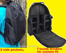 PADDED BACKPACK CASE BAG fit CAMERA NIKON D3000 D3100 D3200 D5300 D5100 D5200