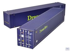 36-102 Bachmann OO/HO Gauge 45ft Containers 'Dream Box' (x2)
