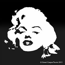 Marilyn Monroe Model Car Window Computer Phone Graphic Vinyl Decal