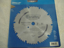 "7 1/4"" 60 TOOTH MASTER COMBINATION STEEL CIRCULAR SAW BLADE  CENTURY"