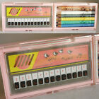 VERY RARE VINTAGE 80'S ECHO MINI PIANO MUSICAL PENCIL CASE TAIWAN NEW MIP !