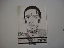advertising Pubblicità 1971 MACCHINA PER CUCIRE NECCHI