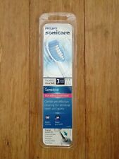 3 SENSITIVE Sonicare Flexcare ProResults Replacement Toothbrush Heads Sonic Care