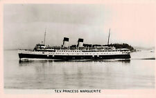 RPPC,S.S.Princess Marguerite,Twin-Stack Ocean Liner,Canadian-Pacific Line,c.'50s