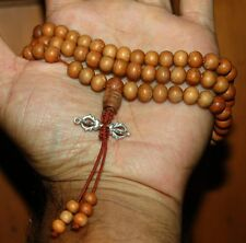 Sandalwood mala with Dorje Vajra Pendant for meditation