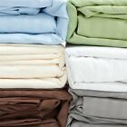 Fine Deluxe 300 Thread Count 100% Cotton Bed Sheet Set - Size King or Queen
