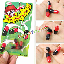 3pcs Magic Jumping Beans Funny Toy Christmas Gift Party Joke Bag Stocking Filler