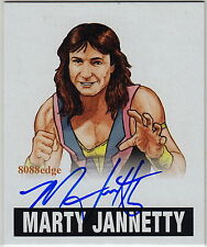 2012 LEAF ORIGINALS WRESTLING AUTO: MARTY JANNETTY -AUTOGRAPH WWF TAG TEAM CHAMP