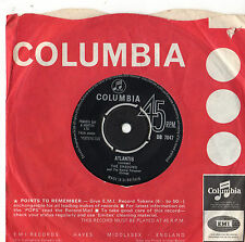 "The Shadows - Atlantis 7"" Single 1963 DB 7047"