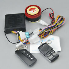 Motorcycle Bike Security Anti-theft Alarm System Remote Control Engine Start 12V