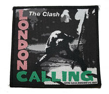 "Ricamate/patch-The Clash ""London Calling"" (tessuti/Woven) punkrock punk 77"
