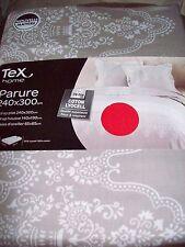 parure TEX drap plat-drap housse-2taies coton lyocell