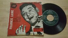 RARE FRENCH EP FRANKIE LAINE TARRIER SONG