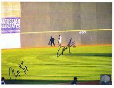 Austin Jackson Signed Autographed 8x10 Photo + 1 - w/COA Thunder Yankees Tigers