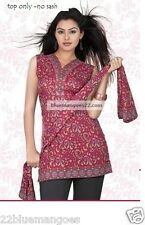 Indian Bollywood Kurta Kurti Designer Women Ethnic Dress Top Tunic Pakistani 2xl