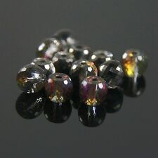 8pcs 8mm 128 faces drum type Swarovski crystal beads C rose green+ gray