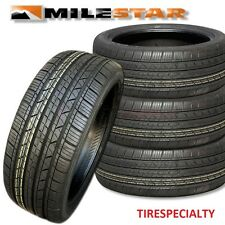 4 New 205/55R16 Milestar MS932 Sport Tires 91V SL 2055516  205 55 16