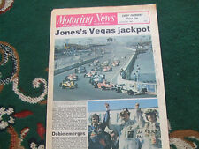 Motoring News 22 October 1981 Mazda RX7 Test Caesars Palace GP Pace Rally