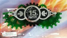 MTG 15th Anniversary GREEN  Life Counter MINT IN ORIGINAL HOLDER, FREE SHIPPING