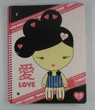Harajuku Lovers Spiral Notebook Gwen Stefani Pink New