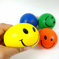 Random Smiley Face Anti Stress Reliever Ball ADHD Autism Mood Toys Squeeze LACA