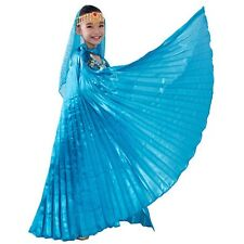 New Kids Belly Dance Costume Wings  Children's Isis Wings 11Colors (No stick)UK