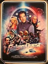 Richard Davies Galaxy Quest Movie Print Poster Mondo Tim Allen Sigourney Weaver