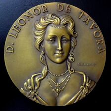 COUNTESS D. LEONOR DE TAVORA / POMBAL MARQUESE OPPOSITION / BRONZE MEDAL / M98