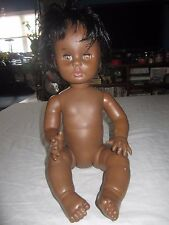 Unmarked Multi Jointed AA African American Black Baby Doll 4 Play Reborn Custom