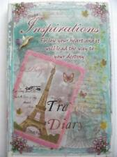 Travel Diary Journal New Note Book Paper Inspirations Soft Cover Small and Light