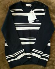 New Lacoste Made in France Stripes Sweater