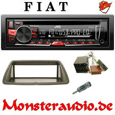 JVC Autoradio FIAT Bravo Brava Marea CD MP3 USB AUX-IN Radio + Adapter & Blende