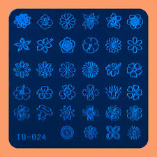 NEW Stamping Manicure Image Nail Art Image Stamp Template Tool Plate Polish T-24