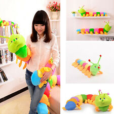 Colorful Inchworm Soft Caterpillar Lovely Developmental Child Baby Toy Doll NEW