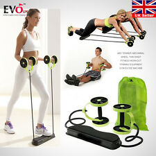 Double Wheels Roller Pull Rope Abdominal Slimming Abdominal Exercise Equipment