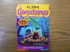 GOOSEBUMPS - I LIVE IN YOUR BASEMENT! # 61 NEVER OPENED OR READ - FIRST PRINTING