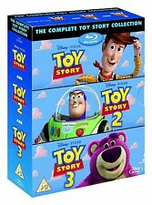 Toy Story Trilogy (Complete Collection 1 2 3) (Blu-Ray Set Disney Pixar) NEW
