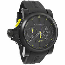 Graham Chronofighter Trigger Flyback Automatic Men's Watch 2TRAB.B11A